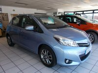 2014 TOYOTA YARIS 1.3 VVT-I ICON PLUS 5d 99 BHP £8295.00