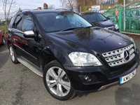 2010 MERCEDES-BENZ M CLASS 3.0 ML350 CDI BLUEEFFICIENCY SPORT 5d AUTO 231BHP £12490.00