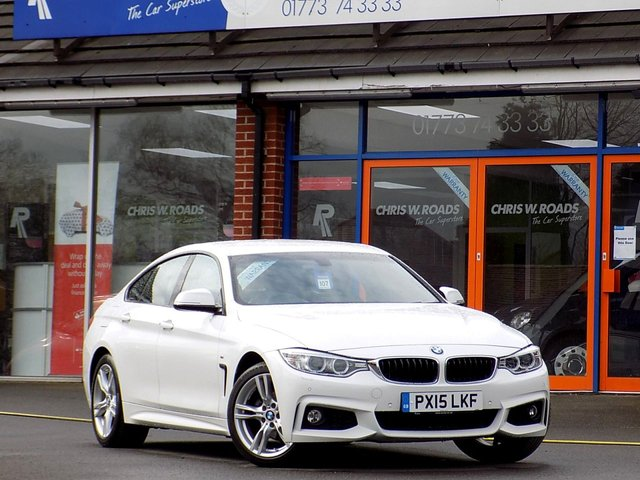 USED 2015 15 BMW 4 SERIES GRAN COUPE 420D M SPORT GRAN COUPE 4dr AUTO (181)   *Pro Nav & Full Leather*
