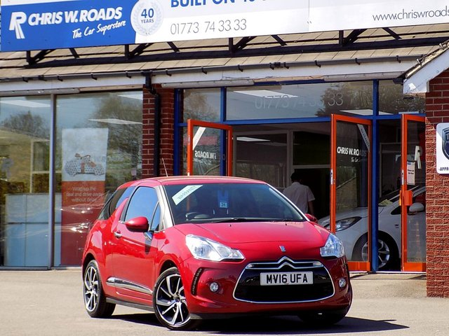 USED 2016 16 DS DS 3 1.6 BLUEHDi DSTYLE NAV 3dr *Sat Nav & Superb Economy*