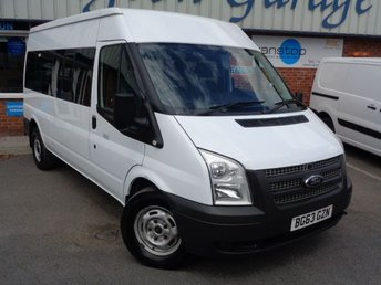 2013 FORD TRANSIT 2.2 350 9 STR 1d 134 BHP £6000.00