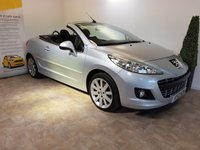 USED 2012 12 PEUGEOT 207 1.6 HDI CC GT 2d 112 BHP FULL SERVICE HISTORY 4 STAMPS