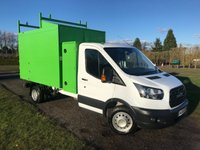 USED 2016 66 FORD TRANSIT 350 LWB 2.0 350 L3 C/C 1d 168 BHP Tipmaster Conversion Ford Warranty Untill 09/19 Full Ford Service History, Recent Service @ Ford Less than 80 miles Ago @  03/18, Still Under Ford Warranty Untill 09/19, Top Spec Tipmaster Tipper Conversion With £££ Of Extras, X2 Toolbox Lockers With Double Lock Doors, Rear Centre Split Barn Doors, Caged Rear Lights, Leather Strap Door Stops, Conversion Cost £13000. From New, Van And Body In Totally Mint Condion, Minimal Use Since New, Previously Owned By A Close Friend  Used For A Tree Surgery Buisness, One Owner From New, Truck And Extras U