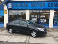 USED 2009 59 TOYOTA AVENSIS 1.8 T2 VALVEMATIC 4d 144 BHP Great Value Family Car