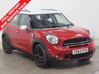 USED 2015 64 MINI COUNTRYMAN 2.0 COOPER S D 5d AUTO 141 BHP ***1 Owner, History, Full Service History, Mini Service Pack, MOT until February 2019, Bluetooth, Parking Sensors, Leather Steering Wheel***