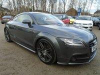 2013 AUDI TT 2.0 TDI QUATTRO BLACK EDITION 2d 168 BHP £14695.00