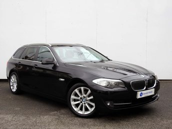 2012 BMW 5 SERIES 2.0 520D SE TOURING 5d 181 BHP £12495.00