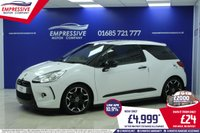 2010 CITROEN DS3 1.6 HDI BLACK AND WHITE 3d 90 BHP £4999.00