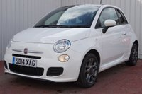 USED 2014 14 FIAT 500 1.2 S 3d 69 BHP FULL SERVICE HISTORY - £30 ROAD TAX
