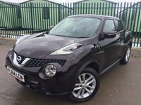 2014 NISSAN JUKE 1.2 ACENTA DIG-T 5d 115 BHP BLUETOOTH PRIVACY ONE OWNER FSH £8990.00