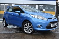 USED 2009 59 FORD FIESTA 1.4 ZETEC TDCI 5d 68 BHP THE CAR FINANCE SPECIALIST