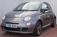 USED 2015 15 FIAT 500 1.2 S 3d 69 BHP FULL SERVICE HISTORY