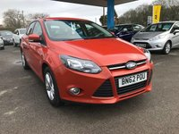 USED 2012 62 FORD FOCUS 1.0 ZETEC 5d 124 BHP NEED FINANCE? WE STRIVE FOR 94% ACCEPTANCE