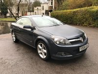 USED 2008 08 VAUXHALL ASTRA 1.6 TWIN TOP SPORT 3d 114 BHP