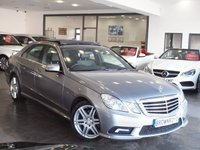 USED 2011 11 MERCEDES-BENZ E CLASS 3.0 E350 CDI BLUEEFFICIENCY SPORT 4d AUTO 265 BHP PANORAMIC SUNROOF+SAT NAV+FSH
