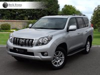 USED 2012 TOYOTA LAND CRUISER 3.0 LC5 D-4D 5d AUTO 188 BHP