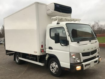2013 MITSUBISHI FUSO CANTER 3.0 7C15 148 DAY FRIDGE BOX T/LIFT STANDBY BARN DOORS LOW MILEAGE £16950.00