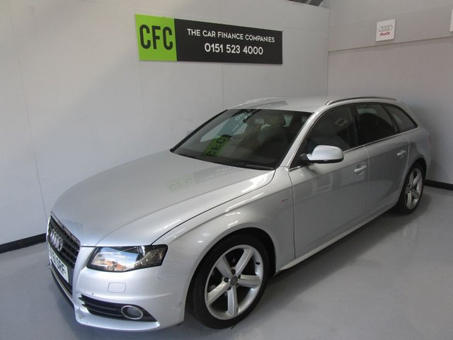 2011 audi a4 avant tdi s line special edition £9,490