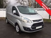 2015 FORD TRANSIT CUSTOM 270 2.2 125 BHP LIMITED L1 H1 5 DOOR **70 VANS IN STOCK*** £11850.00
