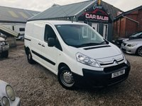 2015 CITROEN DISPATCH 1.6 1000 L1H1 ENTERPRISE HDI 1d 89 BHP £8250.00