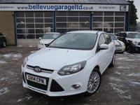 2014 FORD FOCUS 1.6 ZETEC NAVIGATOR TDCI 5d 113 BHP £8495.00