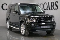 USED 2016 16 LAND ROVER DISCOVERY 3.0 SDV6 LANDMARK 5d AUTO 255 BHP HDD PREMIUM SATELLITE NAVIGATION + TMC + FACTORY FITTED REAR ENTERTAINMENT + BLUETOOTH CONNECTIVITY + DIGITAL TV FUNCTION + MERIDIAN PREMIUM SURROUND SOUND + DAB RADIO + USB / IPOD CONNECTION, FRONT AND REAR PARK DISTANCE CONTROL + REVERSE CAMERA, AUTOMATIC ADAPTIVE BI-XENON HEADLIGHTS + LED DAYTIME RUNNING LIGHTS + POWER WASH, HEATED REAR SEATS, HEATED LEATHER MULTI FUNCTION STEERING WHEEL, HEATED ELECTRIC POWERFOLD EXTERIOR MIRRORS