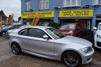 2011 BMW 1 SERIES  118D M SPORT 2d AUTOMATIC 141 BHP 2.0d with SAT NAV £7499.00