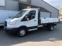 USED 2016 66 FORD TRANSIT 2.2 350 S-CAB TIPPER  130 BHP 6 SPEED