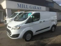 2014 FORD TRANSIT CUSTOM 2.2 290 TREND 100 BHP 6 SPEED £10995.00