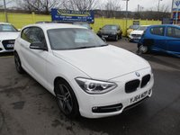 USED 2014 64 BMW 1 SERIES 1.6 116I SPORT 3d 135 BHP ABSOLUTELY STUNNING EXAMPLE !!