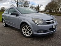 USED 2006 06 VAUXHALL ASTRA 1.6 SXI 16V TWINPORT 3d ALLOYS A/C