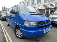 USED 2002 02 VOLKSWAGEN CARAVELLE 2.5 1d