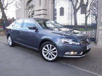 USED 2014 64 VOLKSWAGEN PASSAT 1.6 EXECUTIVE TDI BLUEMOTION TECHNOLOGY 4d 104 BHP ****FINANCE ARRANGED***PART EXCHANGE***1OWNER***£30 POUND ROAD TAX***