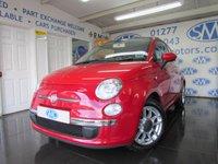 2011 FIAT 500 1.2 LOUNGE 3d 69 BHP £4695.00