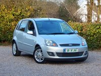 USED 2008 58 FORD FIESTA 1.4 GHIA 16V 5d 80 BHP NEW MOT ON PURCHASE, FINANCE AVAILABLE