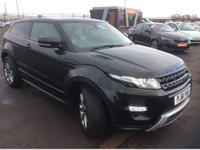 USED 2012 61 LAND ROVER RANGE ROVER EVOQUE 2.2 SD4 DYNAMIC LUX 3d AUTO 190 BHP THE CAR FINANCE SPECIALIST