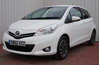 USED 2012 62 TOYOTA YARIS 1.0 VVT-I EDITION 3d 70 BHP £30 PER YEAR ROAD TAX