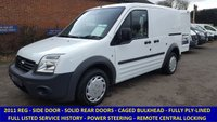 2011 FORD TRANSIT CONNECT 200 SWB WITH HISTORY £3995.00