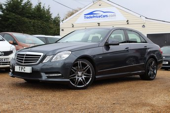 2012 MERCEDES-BENZ E-CLASS 2.1 E220 CDI BLUEEFFICIENCY S/S SPORT 4d AUTO 170 BHP £13950.00