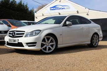2011 MERCEDES-BENZ C-CLASS 1.8 C180 BLUEEFFICIENCY AMG SPORT EDITION 125 2d AUTO 156 BHP £12950.00