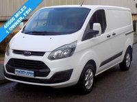 USED 2014 14 FORD TRANSIT CUSTOM L1H1 290 SWB LOW ROOF 2.2 100BHP 6 SPEED 1 Owner, Full Service History