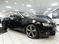 2011 AUDI A5 CABRIOLET 2.0 TDI S LINE 170 BHP £9950.00