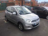 USED 2011 61 HYUNDAI I10 1.2 ACTIVE 5d AUTO 85 BHP VERY RELIABLE AND CHEAP TO RUN AUTOMATIC!..GOOD SPECIFICATION WITH ALLOYS AND AIR CONDITIONING!..EXCELLENT FUEL ECONOMY..LOW CO2 EMISSIONS(129G/KM)..FULL HISTORY(5 SERVICES AT 5 MAIN DEALERS)..ONLY 9490 MILES FROM NEW!!