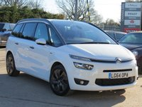 USED 2014 64 CITROEN C4 GRAND PICASSO 2.0 BLUEHDI EXCLUSIVE 5d AUTO 148 BHP AUTOMATIC, REVERSING CAMERA + SATELLITE NAVIGATION