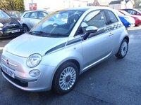 2009 FIAT 500 1.2 LOUNGE 3d 69 BHP £3495.00