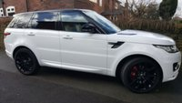 2013 LAND ROVER RANGE ROVER SPORT 3.0 SDV6 AUTOBIOGRAPHY DYNAMIC 5d AUTO 288 BHP £39500.00