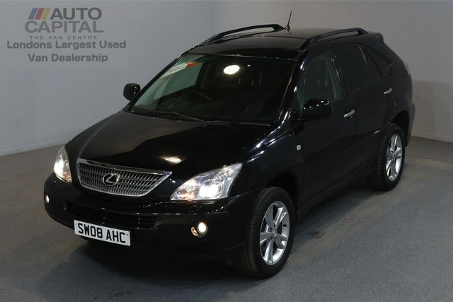 2008 08 LEXUS RX 3.3 400H SE-L CVT 5d 208 BHP AIR CONDITION NAVIGATION REAR TV AUTOMATIC GEARBOX PETROL HYBRID  5 OWNER FROM NEW