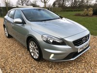 USED 2013 62 VOLVO V40 2.0 D3 R-DESIGN 5d 148 BHP 1/2 LEATHER, DAB, BLUETOOTH