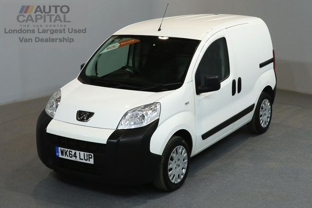 2014 64 PEUGEOT BIPPER 1.2 HDI PROFESSIONAL 75 BHP SWB A/C ONE OWNER FROM NEW, SERVICE HISTORY