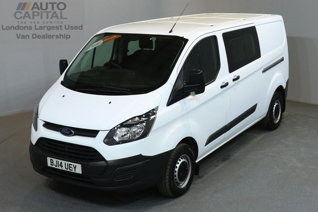 2014 14 FORD TRANSIT CUSTOM 2.2 290 DCB 99 BHP L2 H1 LWB LOW ROOF 6 SEATER COMBI VAN ONE OWNER FROM NEW, SERVICE HISTORY